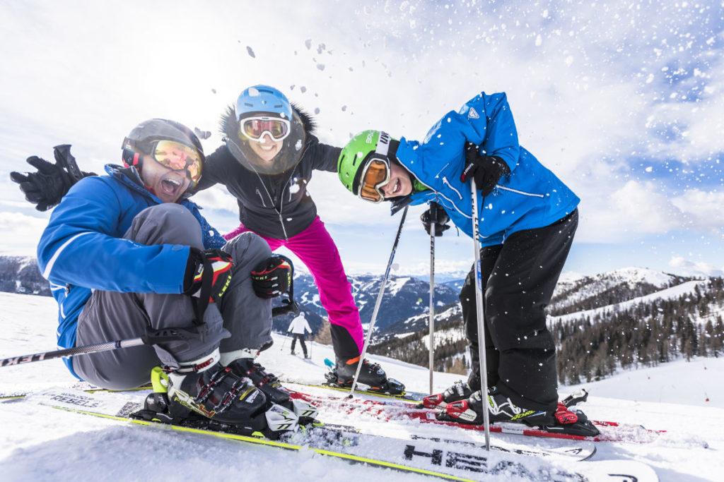 Pension Haus Maria Skifahren_FamilienSkiSpass © BRM - Franz Gerdl